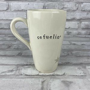 Pottery by Kathy Refuelin 16 oz Ceramic Coffee Mug